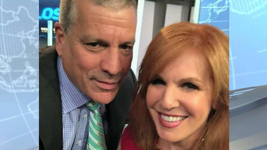 "FOX Business' Liz Claman and Charlie Gasparino share their life stories during a new episode of ""Everyone Talks to Liz Claman."""