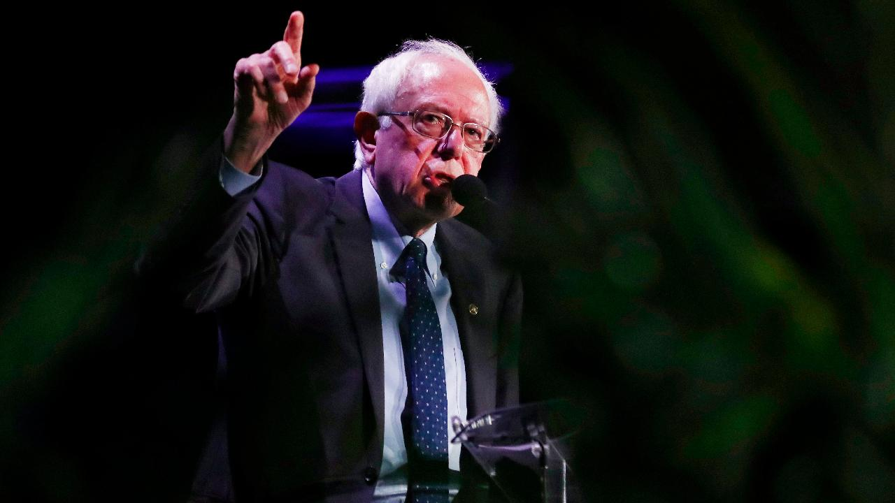 Democratic presidential candidate Bernie Sanders argues we need to change the power structure in America in order to have a government that represents all Americans, not just big-money interests.