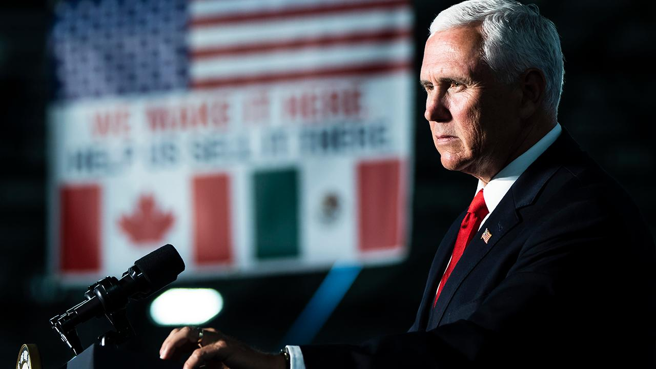 Vice President Mike Pence on the crisis at the U.S. southern border and President Trump's threat to impose tariffs on Mexico.
