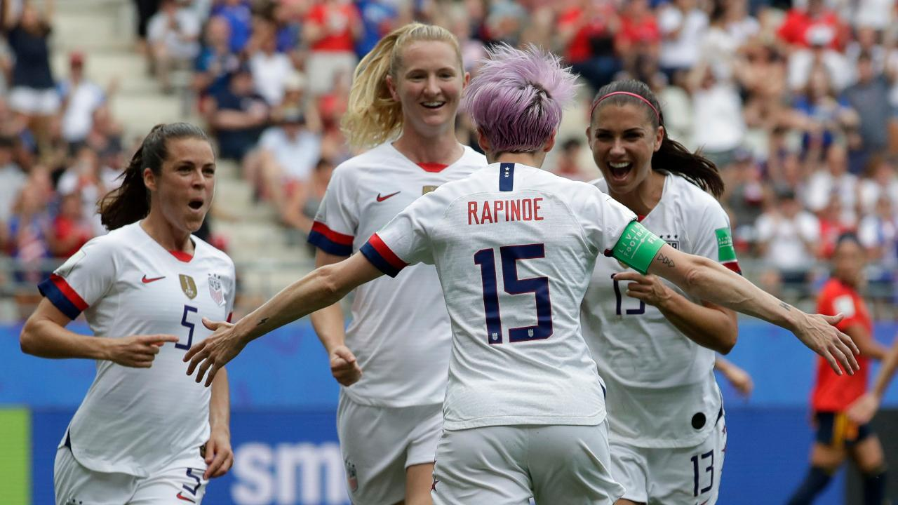 FBN's Ashley Webster on the surge in prices for tickets to the Women's World Cup match between the U.S. and host country France.