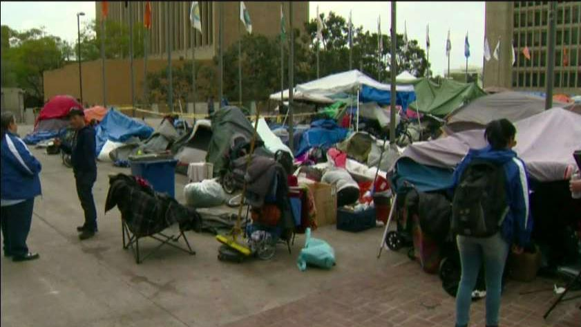 California Mayor Don Sedgwick on efforts to end the mounting homelessness crisis in California.