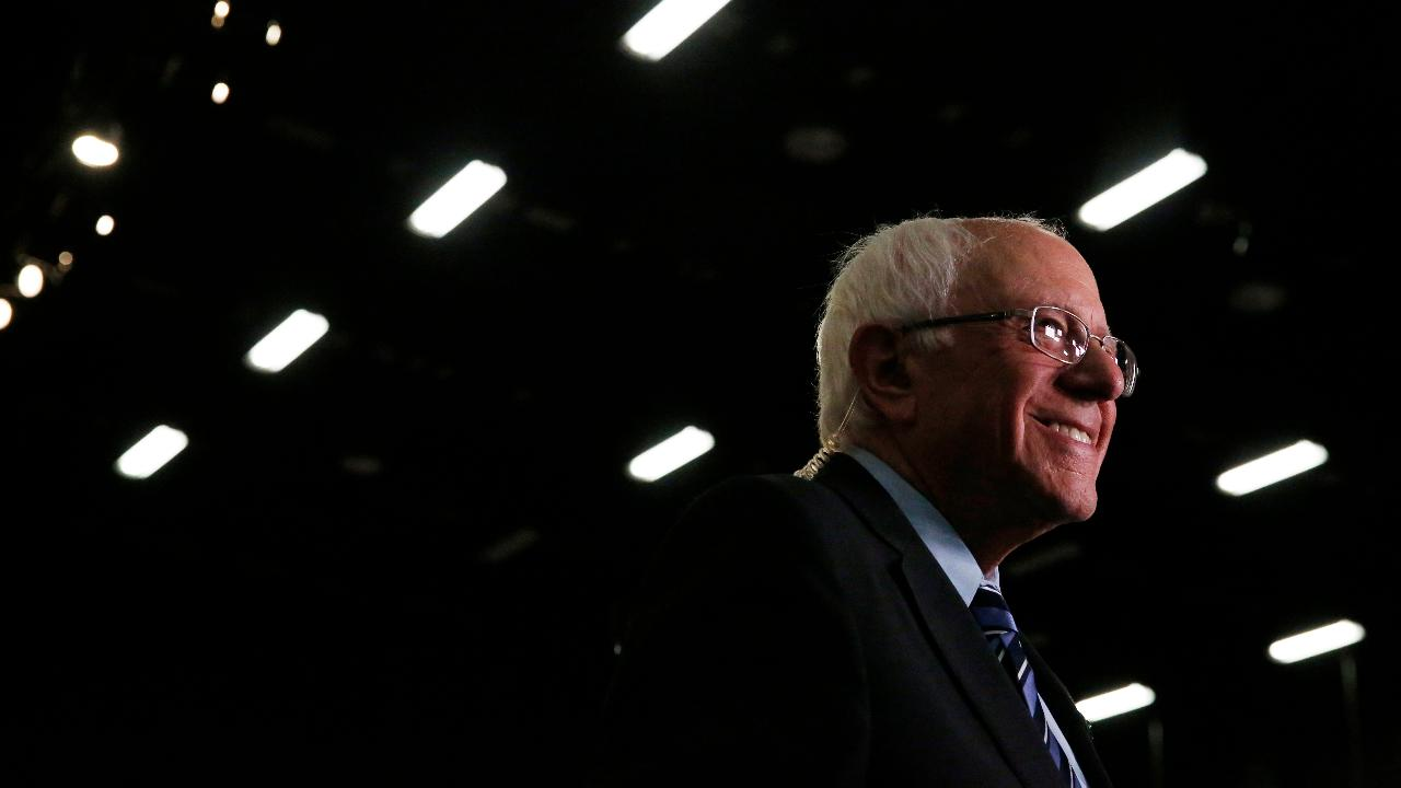 Democratic presidential candidate Bernie Sanders on explains his Medicare-for-all plan under which middle-class Americans will pay more in taxes, but will save an even greater amount in terms of health-care premiums, deductibles and out-of-pocket costs.