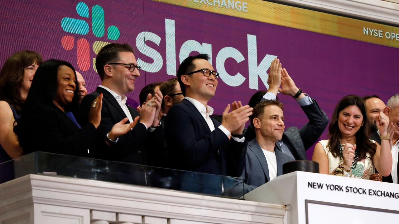 FBN's Gerri Willis on the Slack IPO and the company's unique public offering.