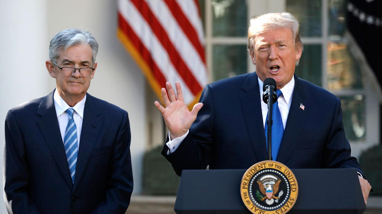 FBN'S Charles Payne on the Federal Reserve disclosure that Federal Reserve Chair Jerome Powell spoke with President Trump on the phone on April 11th.