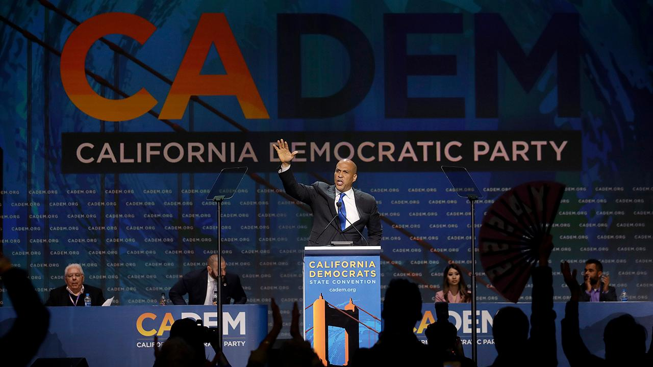 FOX Business' Kennedy on the California Democratic convention.