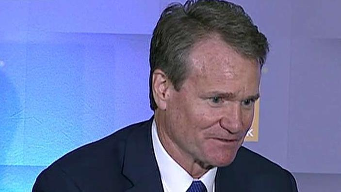 Bank of America CEO Brian Moynihan says the U.S. economy is stronger than people think and he doesn't anticipate the Federal Reserve to cut interest rates in 2019.