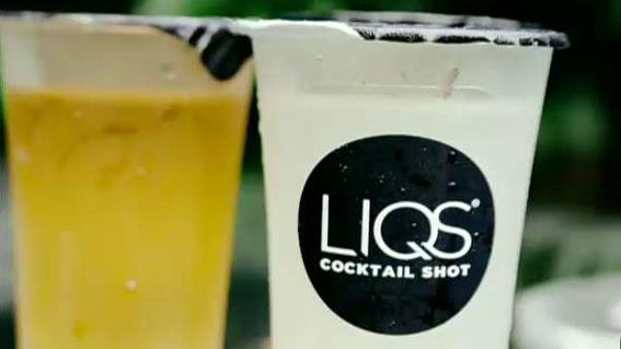 LIQS co-founders Harley Bauer and Michael Glickman on the company's high-end prepackaged shots.