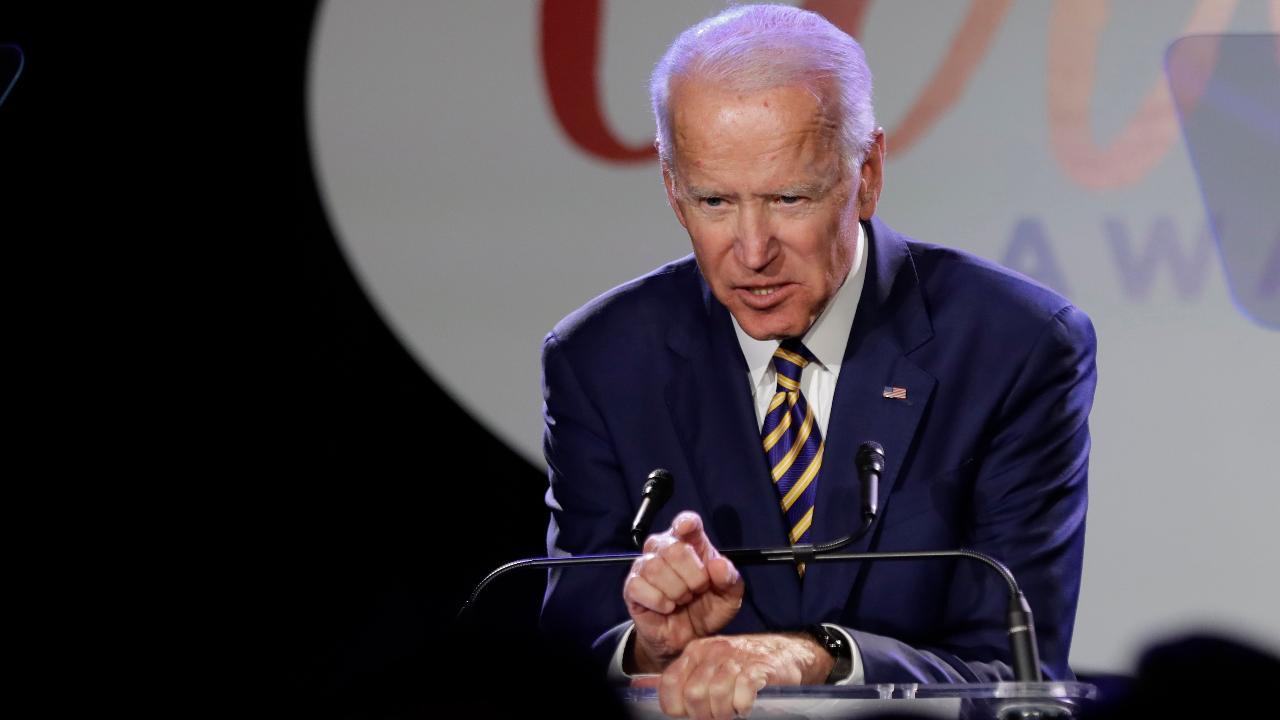 DoubleLine Capital CEO Jeffrey Gundlach on former Vice President Joe Biden's 2020 presidential bid.