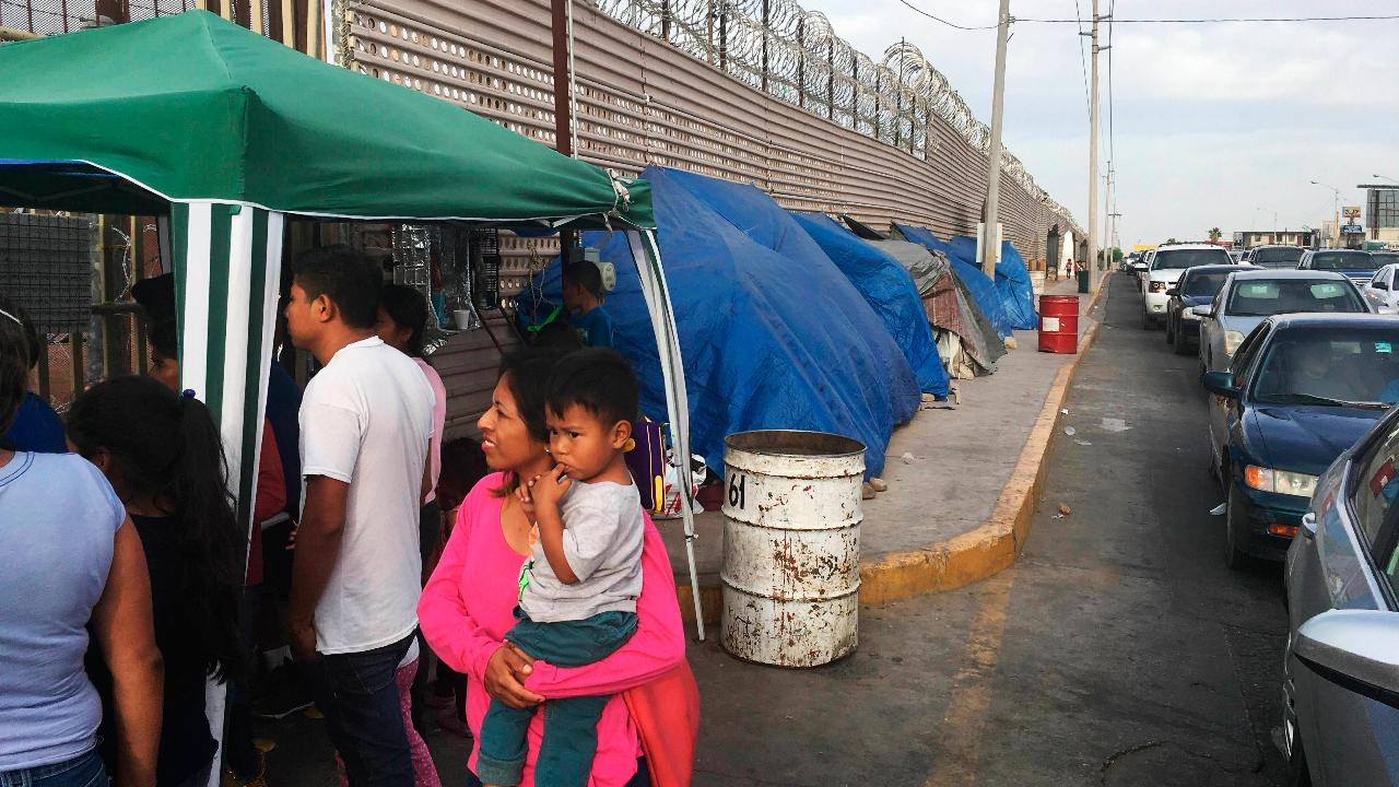 ICE Enforcement and Removal associate director Nathalie Asher discusses the crisis at the U.S., Mexico border.