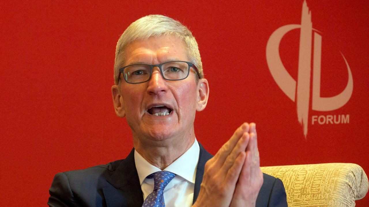 Apple CEO Tim Cook takes on the downsides of big tech at his commencement speech at Stanford University.