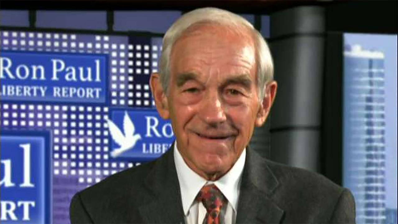 Former. Rep. Ron Paul, R-Texas, on the Federal Reserve.