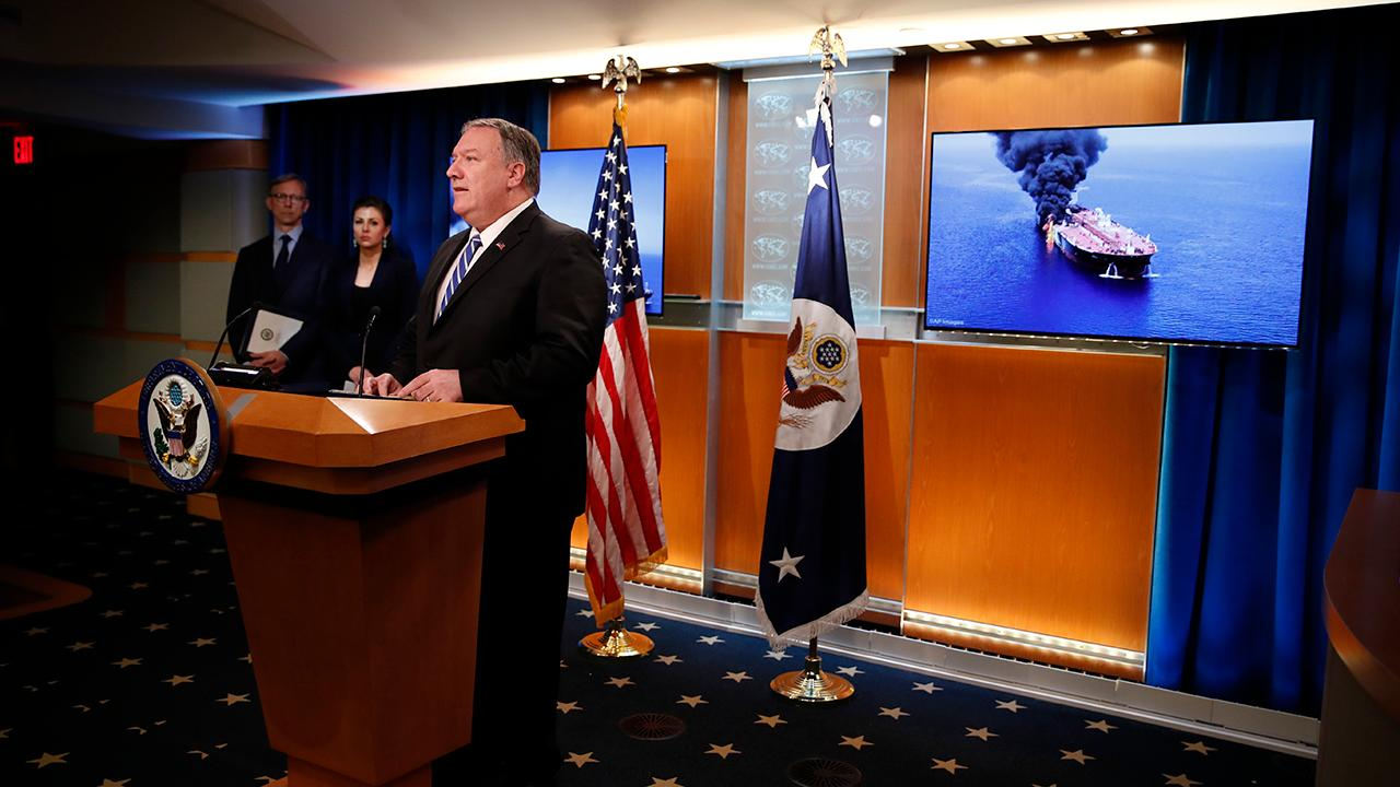 U.S. Secretary of State Mike Pompeo says the U.S. believes that Iran is responsible for attacks that damaged two international oil tankers near the Persian Gulf. Cato Institute's Christopher Preble gives his take on the damaged oil tankers and the U.S.-Iran tensions.