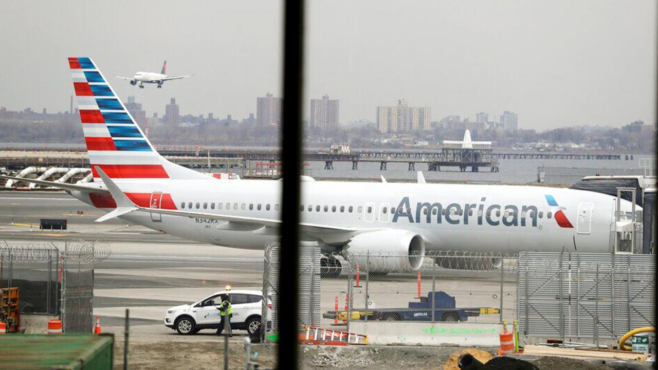 Morning Business Outlook: American Airlines is extending cancellations of Boeing 737 Max flights through September 3; new survey shows more than half of pet owners admit lying to their employers about taking their animals to the vet.