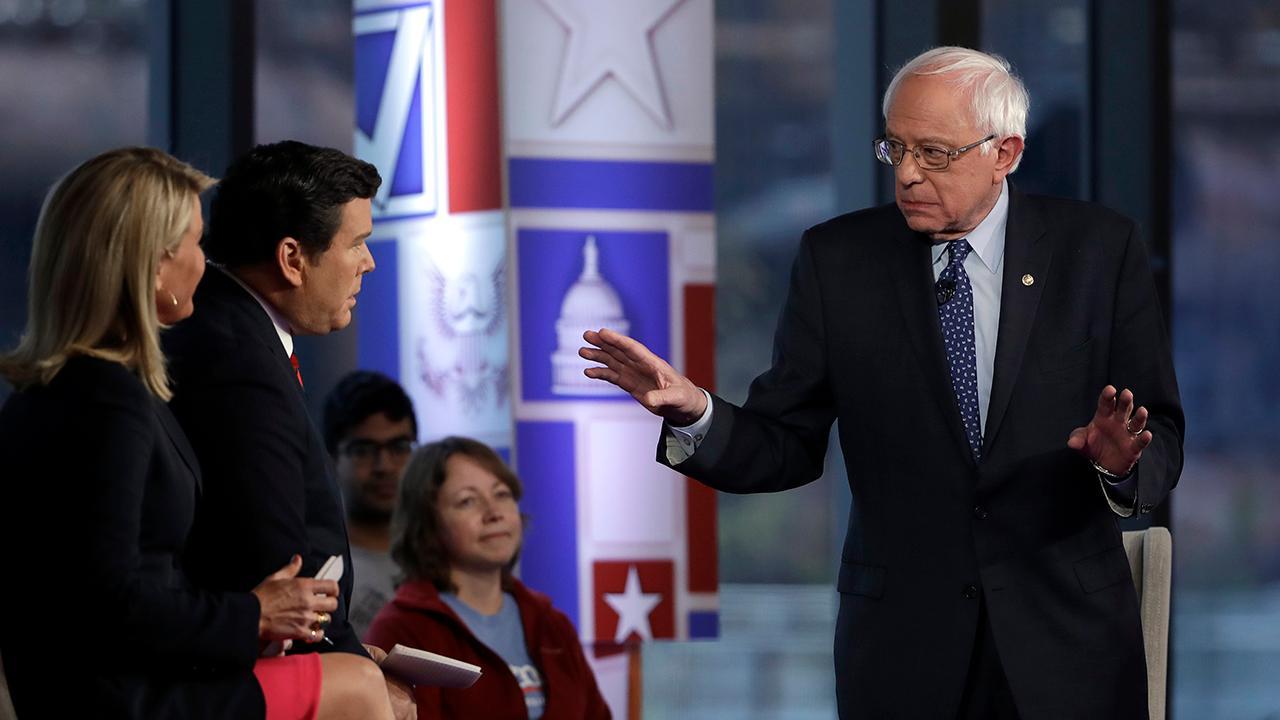 Former CKE Restaurants CEO Andy Puzder on Sen. Bernie Sanders' (I-Vt.) fight against Walmart.