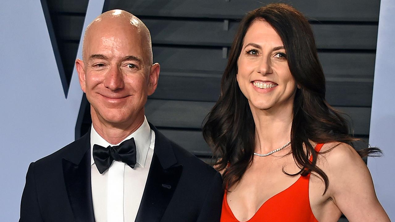 Morning Business Outlook: Amazon founder and CEO Jeff Bezos to pay out $38B to MacKenzie Bezos as their divorce settlement is finalized; Nike pulls a new sneaker design that featured an image of the Betsy Ross flag on the heel.
