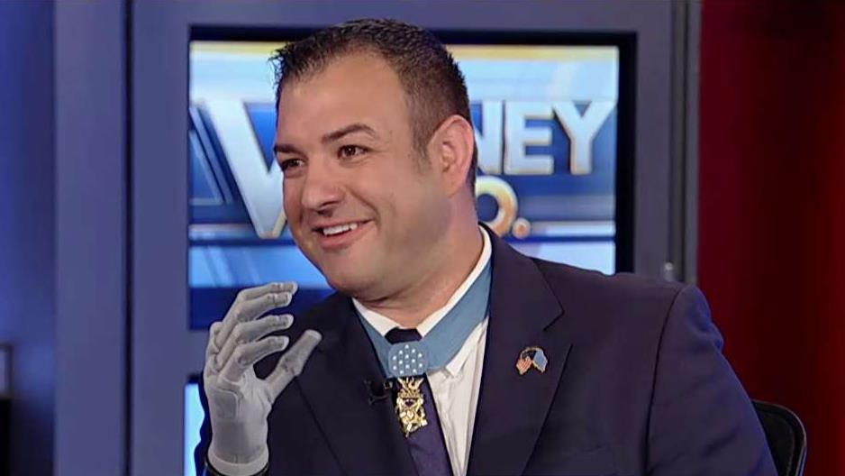 Medal of Honor recipient Sgt. Leroy Petry (Ret.) and ISG Research principal analyst Stanton Jones on Sgt. Petry's robotic prosthetic hand and the advances in robotic prosthetic technology.
