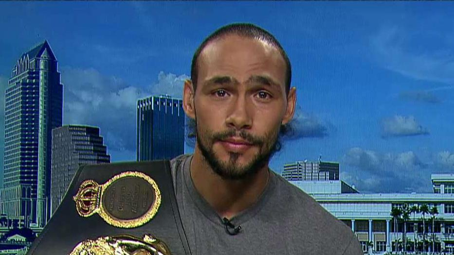 WBA World Welterweight Champion Keith Thurman on his potential earnings from his upcoming fight against Manny Pacquiao and his investments in the stock markets.
