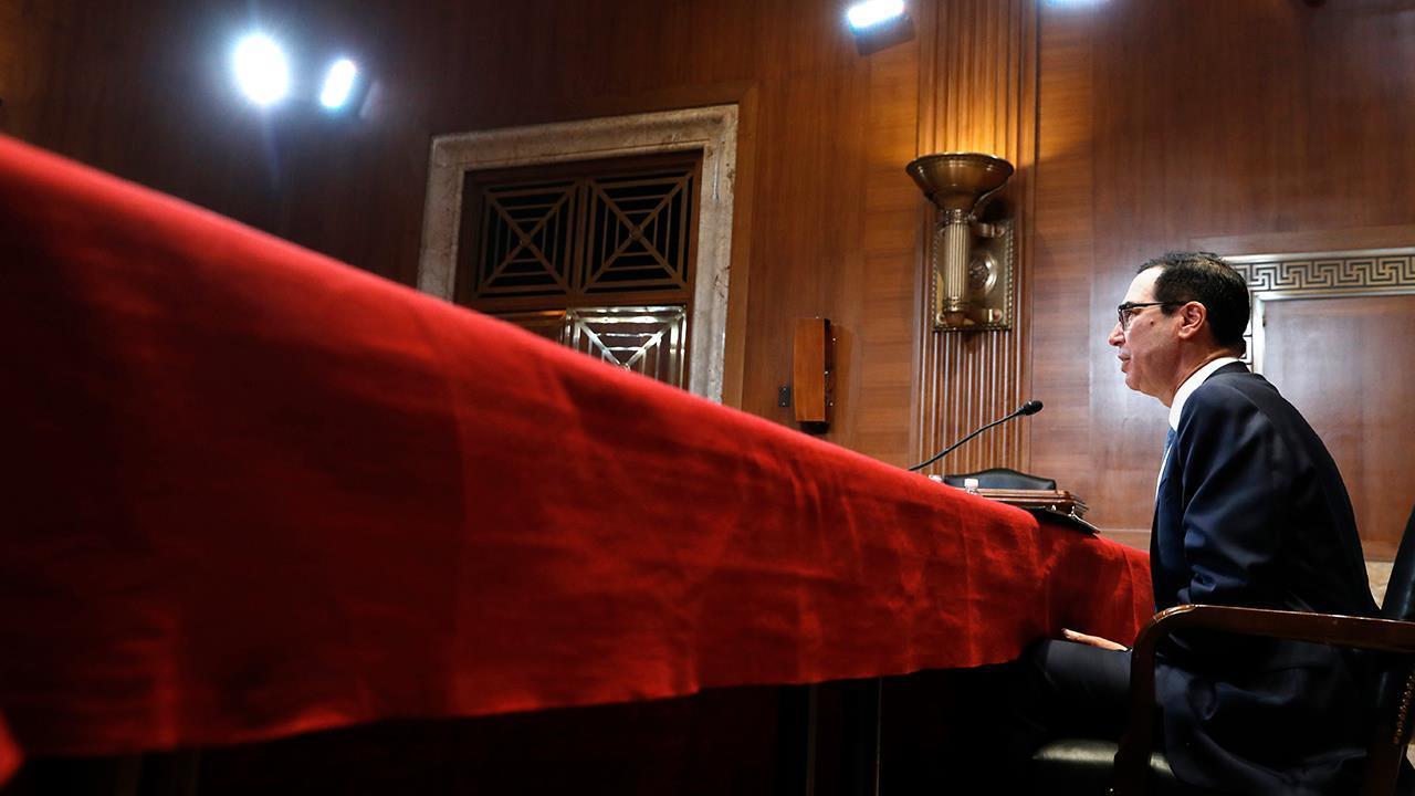 Treasury Secretary Steven Mnuchin is in talks to raise the debt ceiling of $22 trillion. National Taxpayers Union senior fellow Mattie Duppler with reaction.