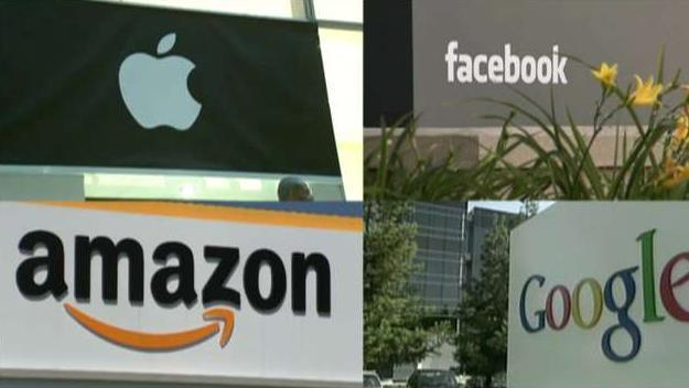 The Department of Justice is looking at a broad new antitrust review for companies such as Apple, Amazon, Alphabet's Google, and Facebook. Fox News senior judicial analyst Judge Andrew Napolitano with reaction.