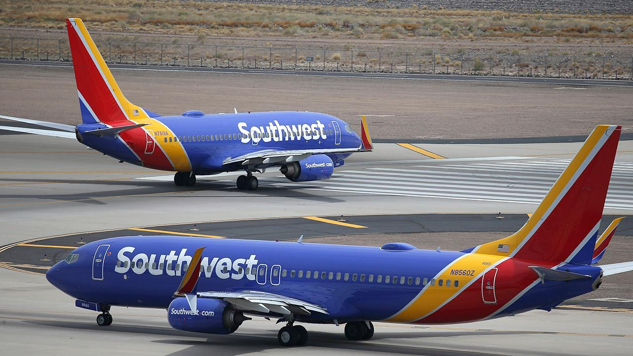 Fox Business Briefs: Southwest Airlines say it will no longer fly the 737 Max until January of next year. Ahneuser-Busch says the market share for Budweiser and Bud Light is down half a percentage. Chipolte will give away free guacamole on July 31st.