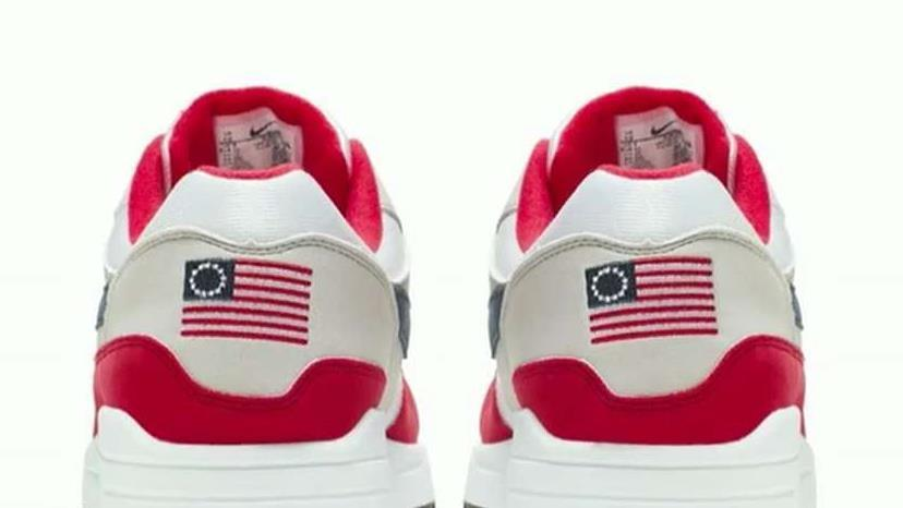 Fox 24/7 sports reporter Jared Max and The Brewer Group CEO Jack Brewer on Nike's decision to pull its Betsy Ross Flag sneaker after quarterback Colin Kaepernick raised concerns.