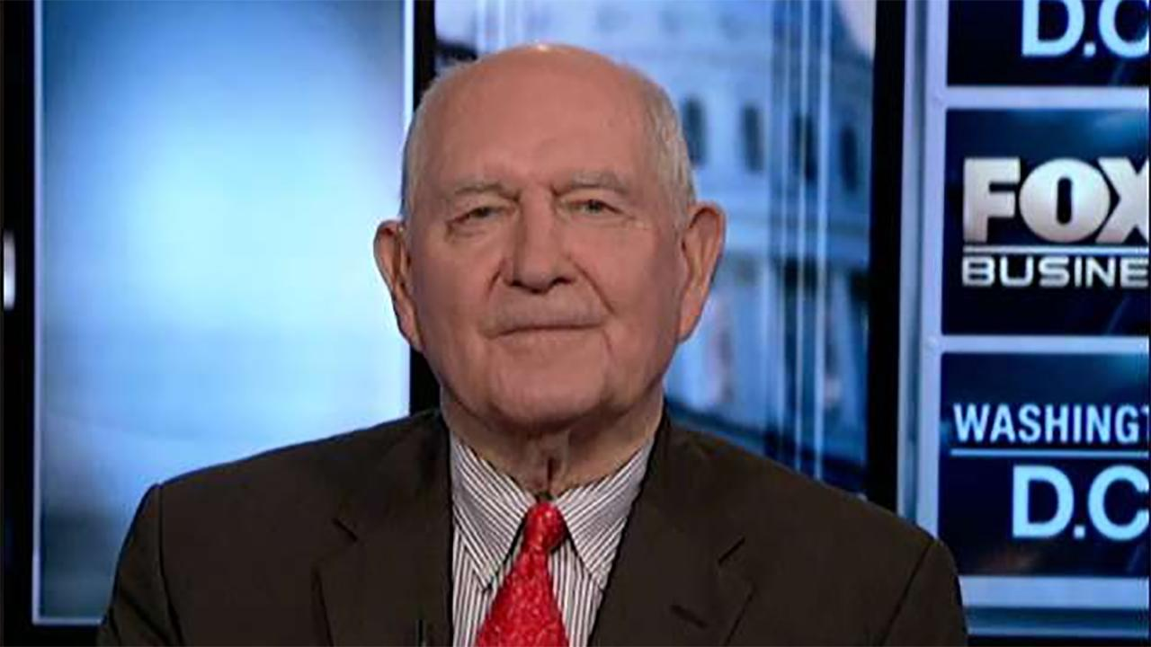 Agriculture Secretary Sonny Perdue on farmers' concerns over the USMCA deal as well as the trade tensions with China and the impact of numerous states legalizing marijuana on the agriculture industry.