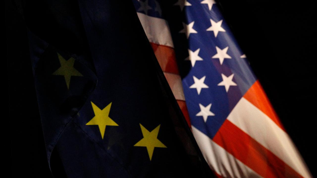FBN's Stuart Varney argues Europe is becoming increasingly hostile towards the U.S.