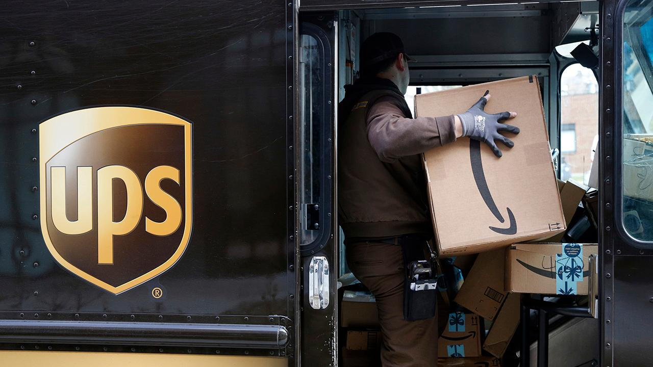 UPS Chairman David Abney discusses his company's strong second-quarter earnings and their new plan to start delivering packages on Sundays.