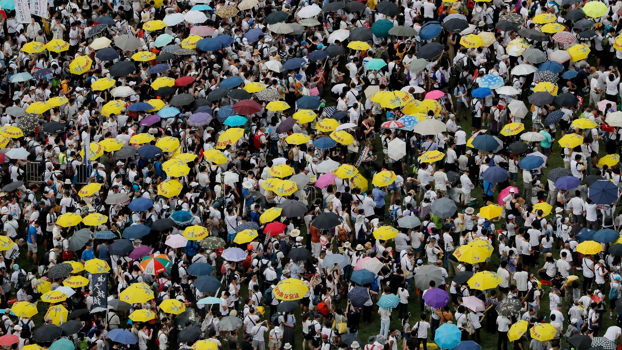 WSJ Editorial Board member Bill McGurn on China's handling of the protests in Hong Kong.