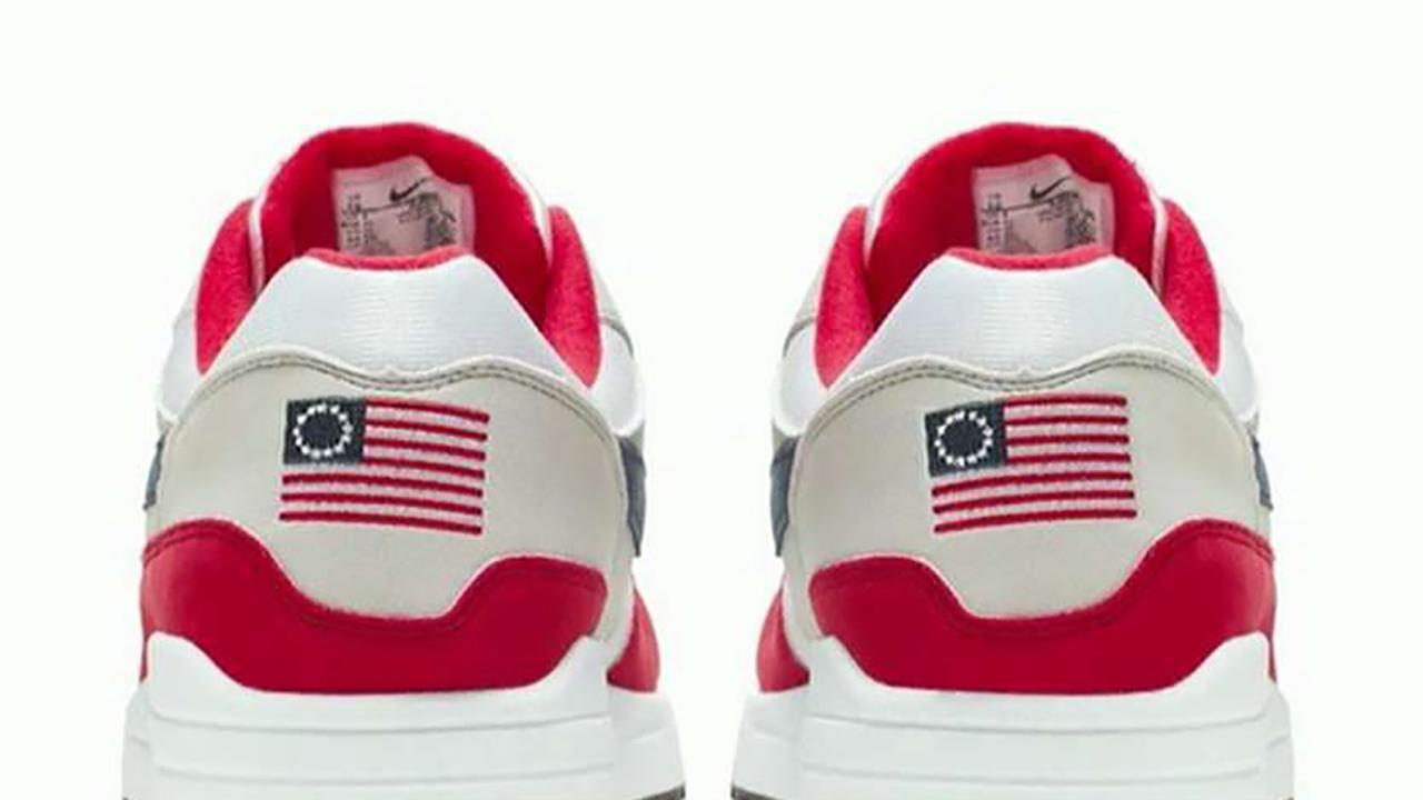 """Iraq combat veteran Bryan Suits, Democratic strategist Antjuan Seawright and """"Kennedy"""" head writer Jimmy Failla on Nike's decision to pull its Betsy Ross flag sneakers."""