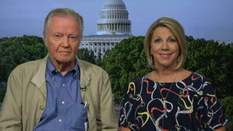 FOX Business' David Asman talks to Academy Award-winning actor Jon Voight and Gold Star mother Karen Vaughn about the recent popularity of socialism in the U.S.
