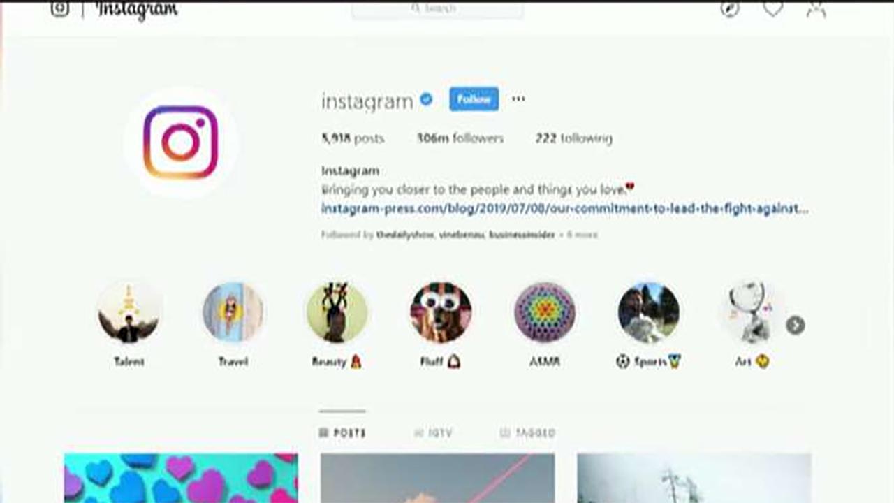 FBN's Lauren Simonetti on Instagram's efforts to combat cyberbullying.
