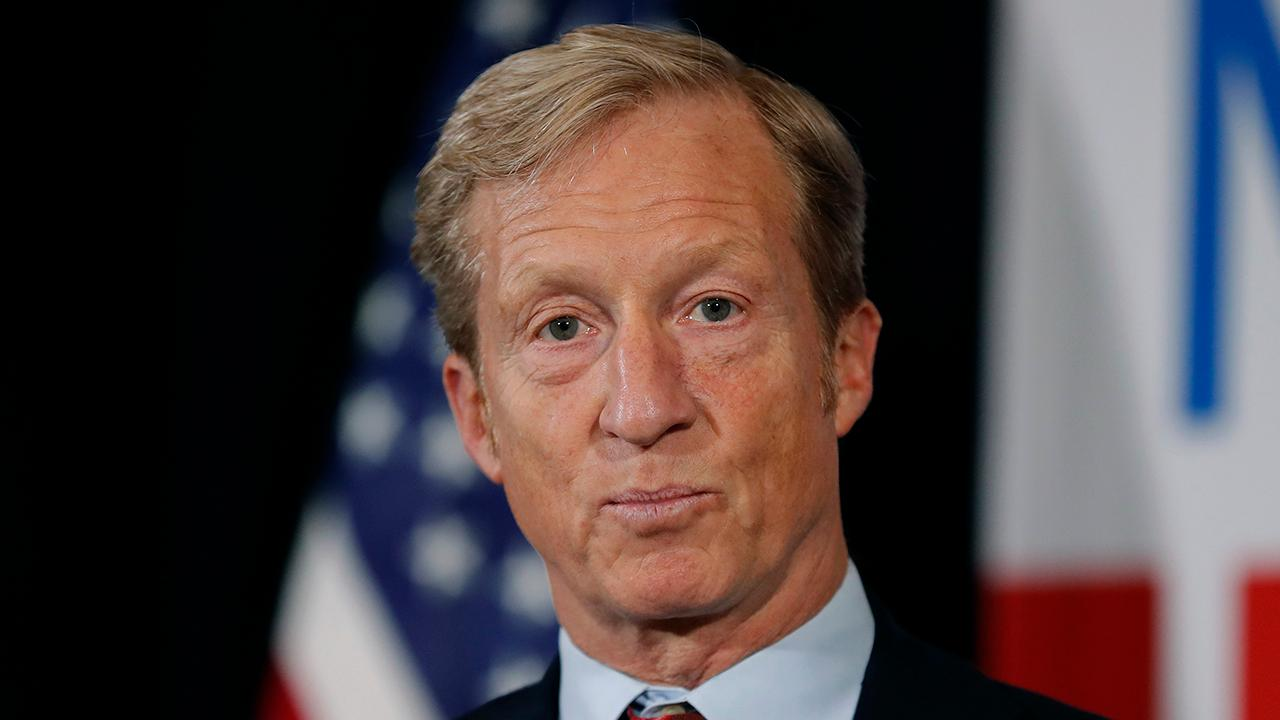 32 Advisors CEO Robert Wolf reacts to billionaire Tom Steyer's presidential bid.