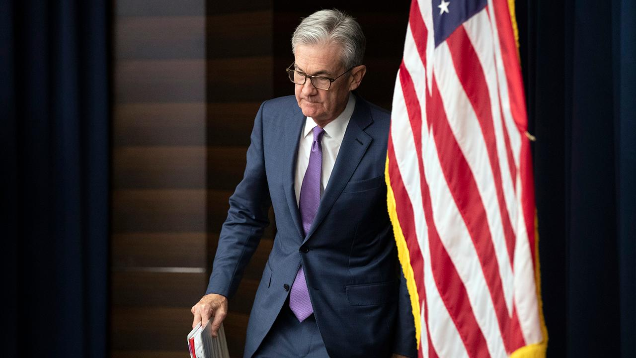 Federal Reserve Chairman Jerome Powell discusses why the central bank lowered the benchmark interest rate by a quarter of a percentage point.