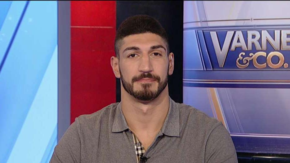 NBA player Enes Kanter explains why he can't leave US