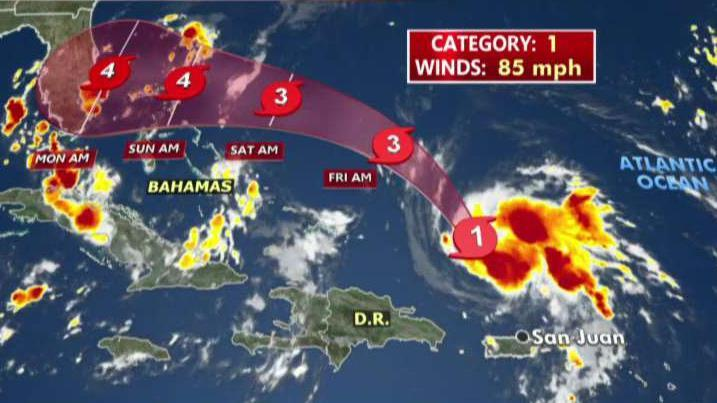 Hurricane Dorian is approaching Florida as a possible Category 4 storm, and 'Everyday Millionaires' author Chris Hogan explains whether small businesses can still get insurance ahead of the storm.
