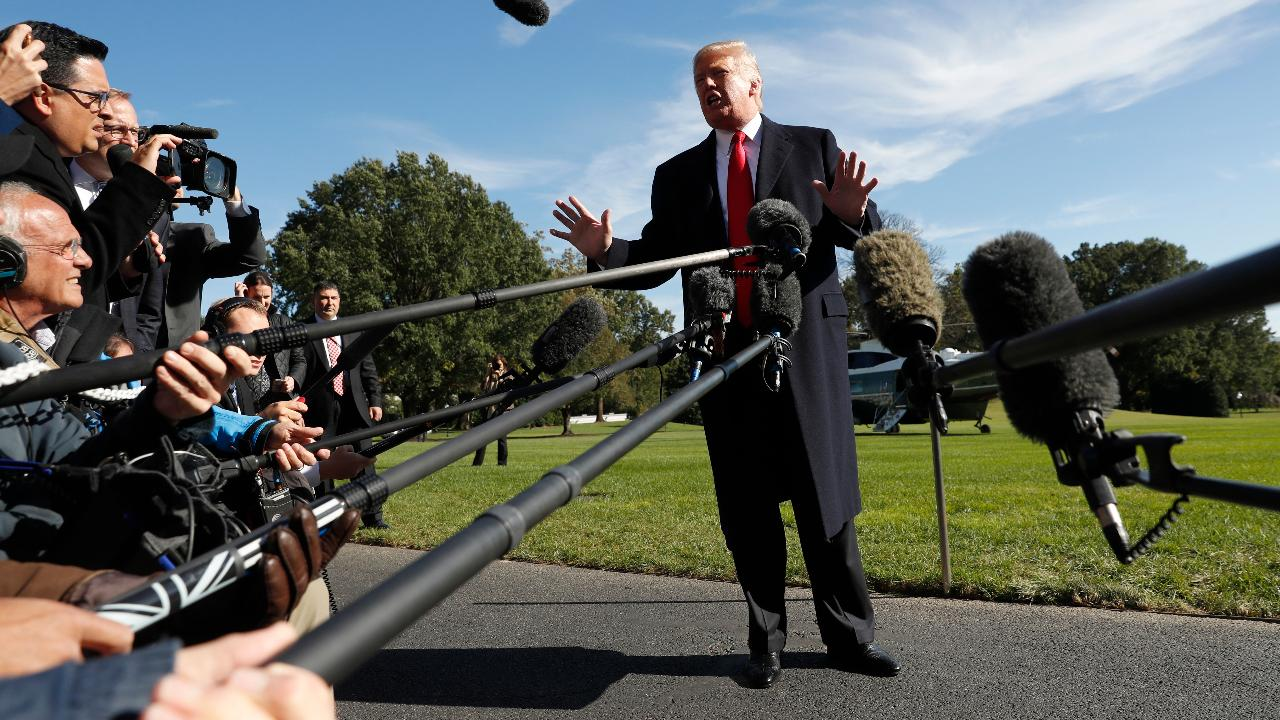 President Trump on the state of the U.S. economy and why the Federal Reserve should cut interest rates.