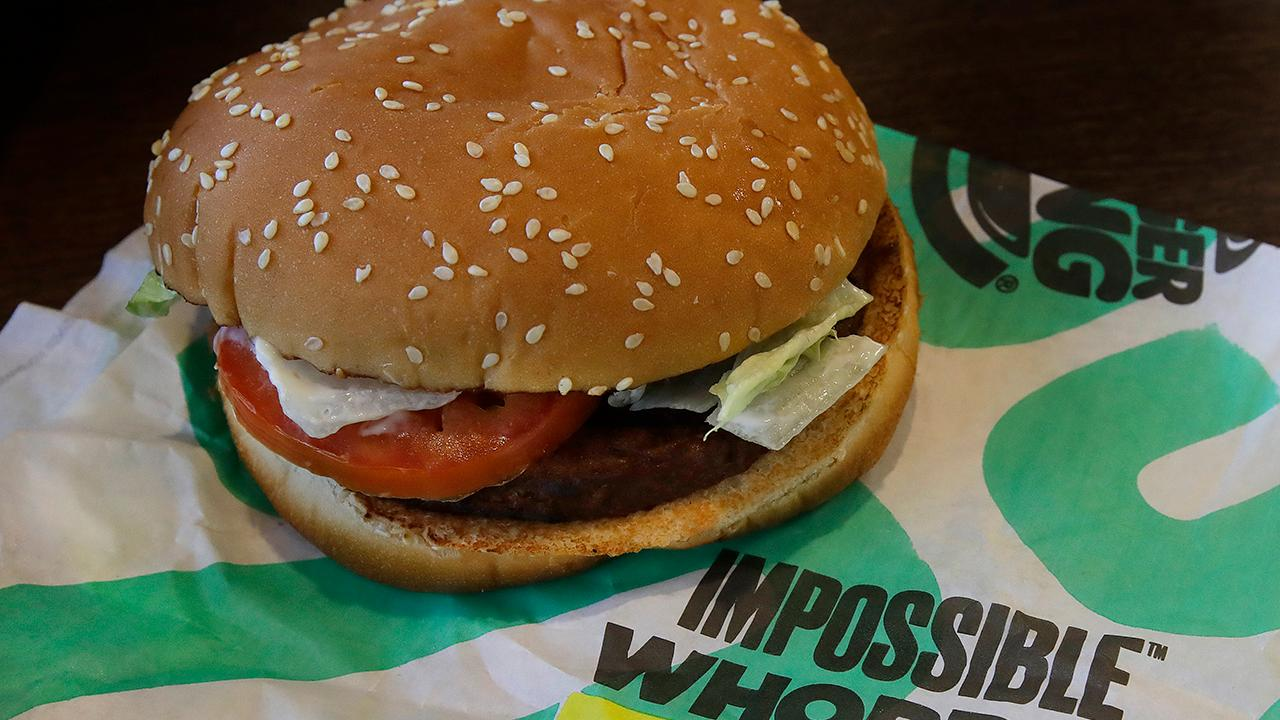 Fox Business Briefs: The Impossible burger is bringing new customers into Burger King as the chain plans to release it nationwide. Netflix is reportedly tracking the activity of some mobile users on Android to improve playback quality on-the-go.