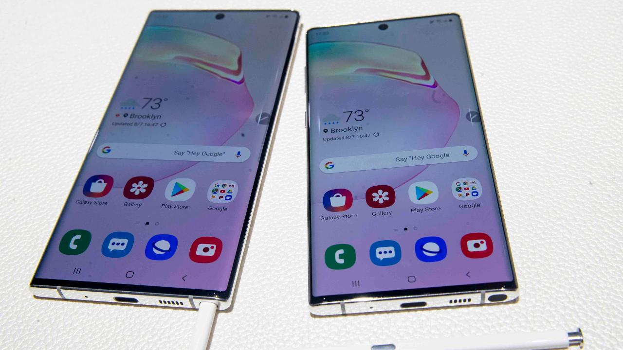 Tech analyst Eric Schiffer on the latest additions to Samsung's line of smartphones and concerns over the rising prices in the smartphone market.