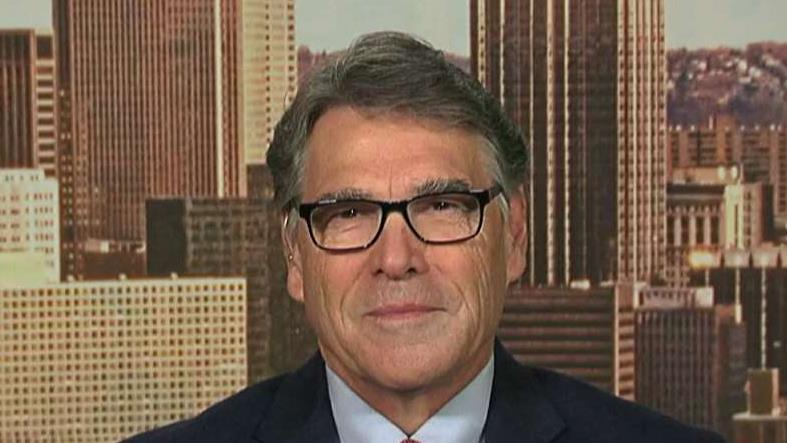 Energy Secretary Rick Perry on falling oil prices.
