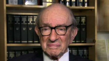 Former Federal Reserve Chairman Alan Greenspan discusses his outlook for the economy.