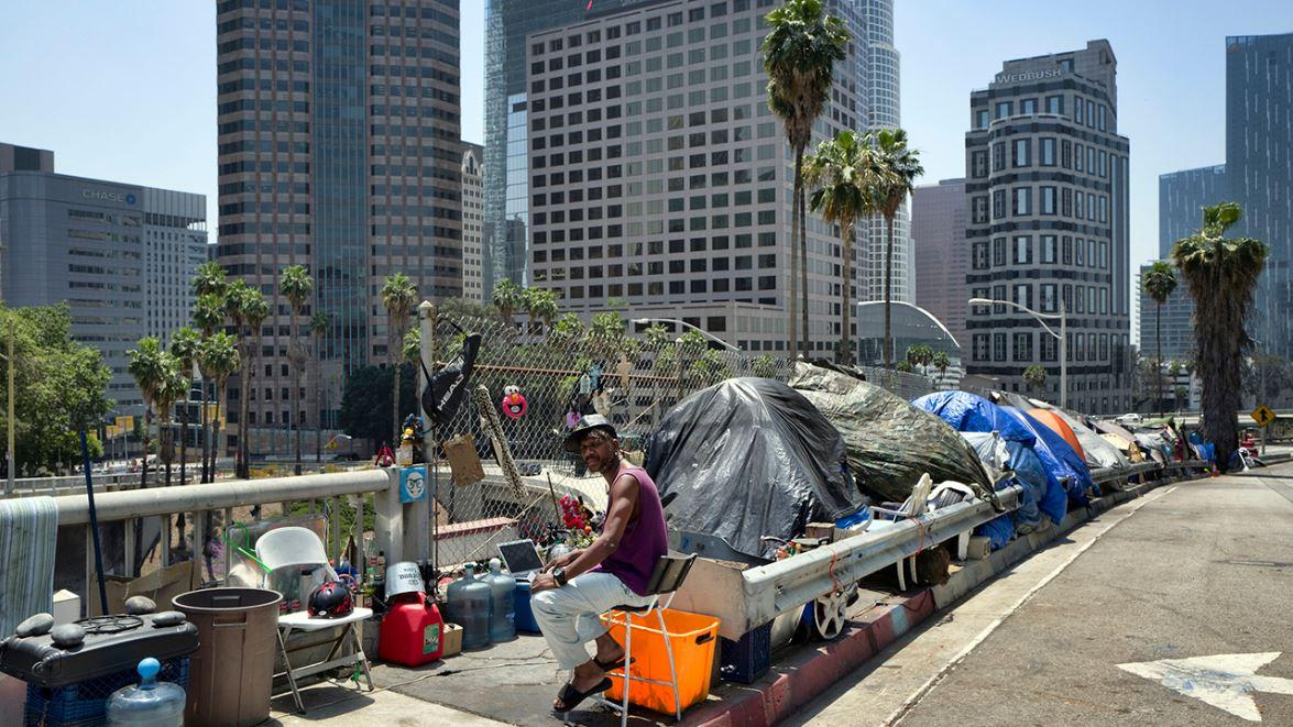 Larry Elder, Salem Radio talk show host, explains the California homeless crisis and the lack of viable options available to the state's government.