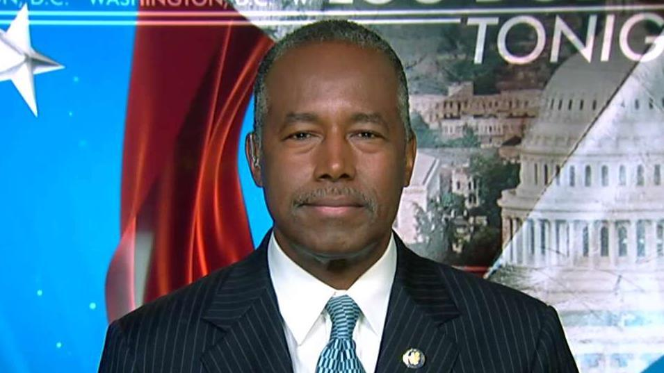 Dr. Ben Carson, secretary of Housing and Urban Development, explains the significance of HUD endorsing mortgage loans for condominium units.