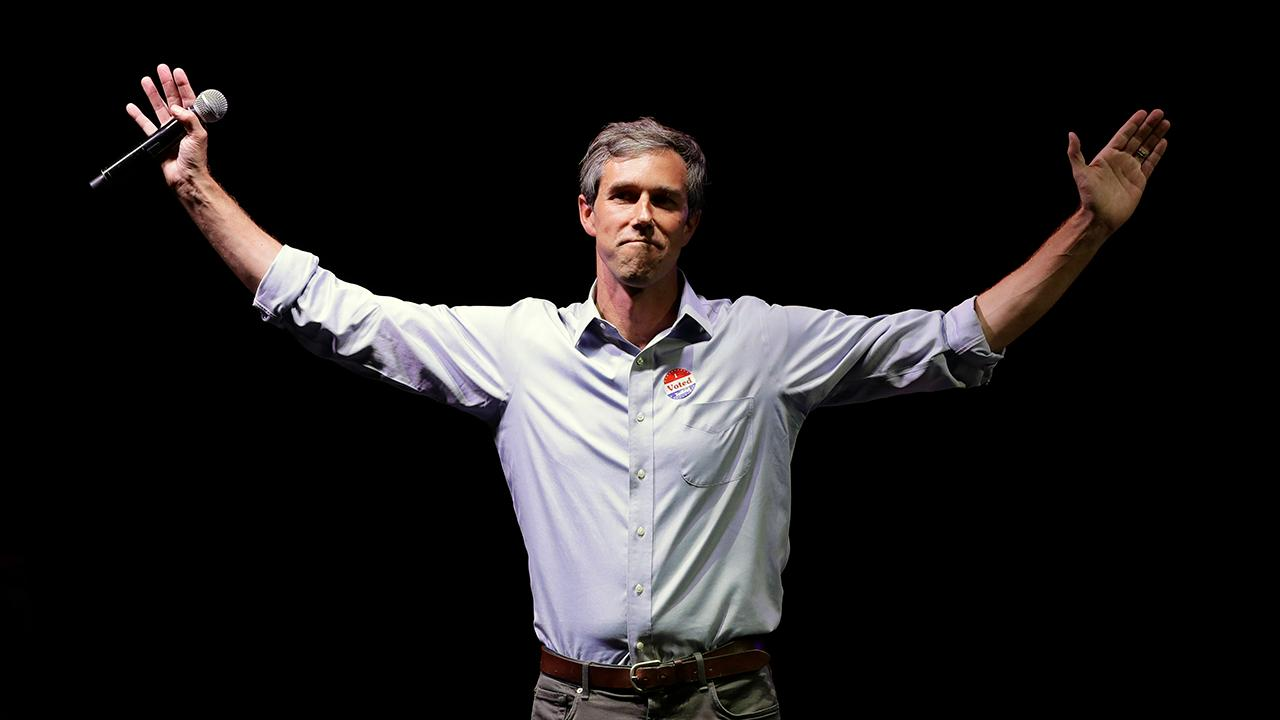 FOX Business' Kennedy criticizes Democratic presidential candidate Beto O'Rourke (D) for trying to restart his campaign.