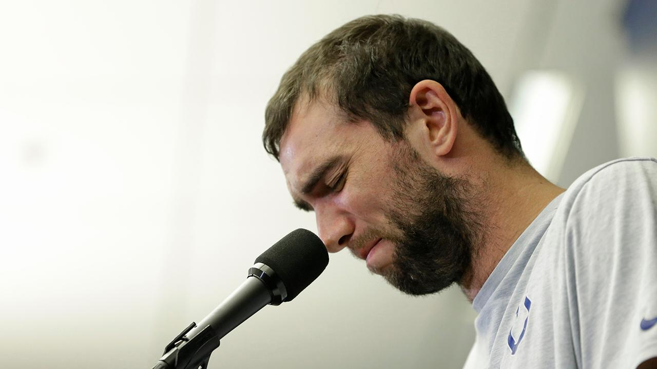 Indianapolis Colts quarterback Andrew Luck retires before new season.