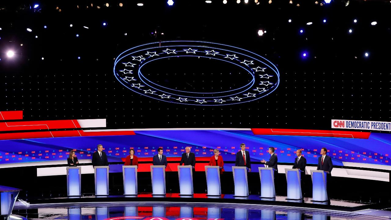 Former Clinton senior adviser Mark Penn and former Rep. Darrell Issa, R-Calif., on the Democratic debates and the outlook for the 2020 presidential race.