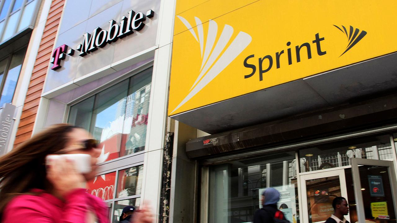 FOX Business' Charlie Gasparino discusses how T-Mobile and Sprint may reprice their recently approved deal. Gasparino also discusses the possible CBS and Viacom merger.