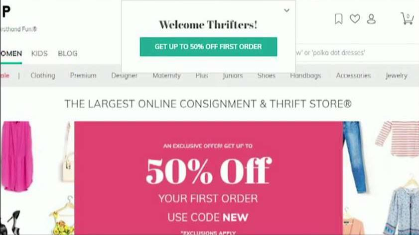 ThredUp CEO James Reinhart on how the resale platform is helping JCPenney and Macy's.