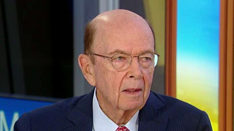 Commerce Secretary Wilbur Ross on Huawei restrictions.