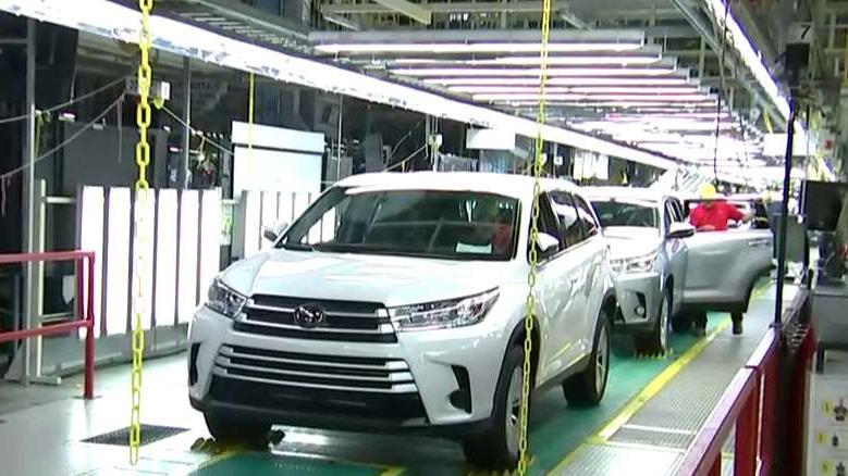 Toyota is looking for hundreds of workers from all over the country, but they need them to move to Indiana.